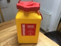 Watertight container ideal for canoe trip