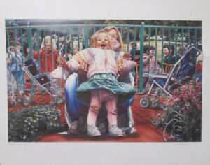 "Limited Ed Lithograph Print ""Precious Treasures"" by Les Tait!"
