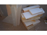insulated plasterboard offcuts FREE