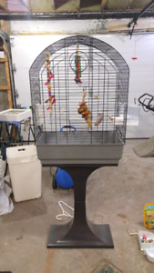 Bird Cage, fully equiped with many accessories +++