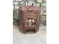 Victorian cast iron fire place