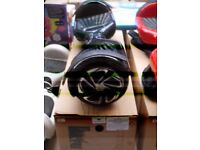 Wizboard black coloured electric balance board, tested working with charger