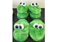 Stompeez slippers and boys boots