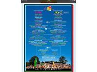 2 x V Festival Day Tickets - Weston Park, Saturday 19th August