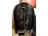 RIVER ISLAND WOMANS FUAX LEATHER JACKET exellent condition