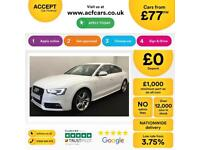 Audi A5 S Line FROM £77 PER WEEK!