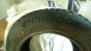 Hankook winter tires 185/65/R15 like new