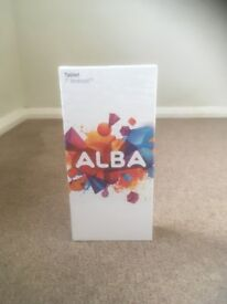 "Tablet Brand New & Sealed Alba 7"" Android"