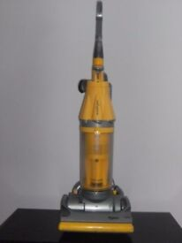 Dyson DC07 RootCyclone 8 Bagless Upright Vacuum Cleaner Yellow & Silver