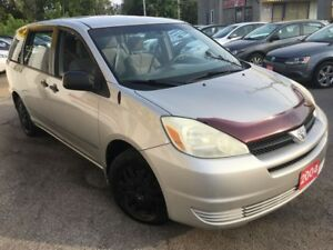 2004 Toyota Sienna CE/AUTO/7PASS/CAPTAINS/LOADED/DRIVES LIKE NEW