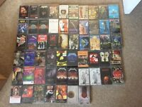 Heavy metal/hard rock cassette tapes