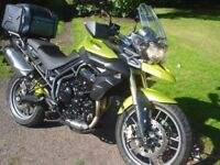Triumph Tiger 800 ------Low-Miles-----2 owners