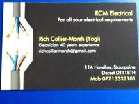 RCM Electrical for all your electrical requierments. Alarm systems, Boiler control,lighting, points.