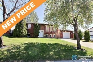 NEW PRICE! Updated and well maintained 4 bed/2 bath bi-level