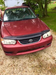 Reliable 2002 CE Toyota Corolla - Safetied
