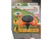 Stretch Hose Multipurpose Sprinkler: BRAND NEW- £10 or best offer