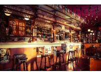 Experienced Part Time Bar Staff Wanted