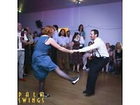 Swing Dancing at the Folk House