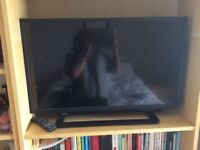 Toshiba 32 Inch HD Ready 720p LED TV with Integrated DVD Player