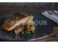 Seeking Sous Chef for Neighbour - Bar & Restaurant in Kentish Town, excellent rates of pay