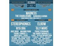 Victorious Festival Sat tickets X2 cheaper than face value