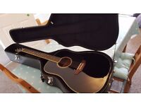 Ashton Electro Acoustic Guitar with hard case