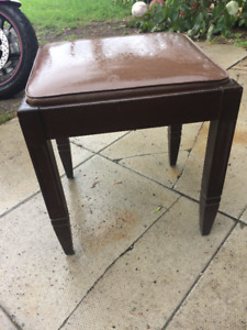 Old Sewing Machine Stool