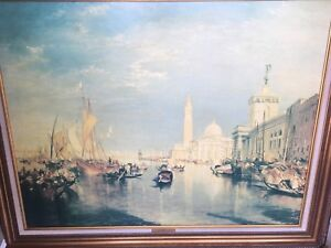 """Venice"" is a reproduction after the original by artist Turner"