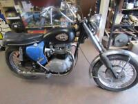 BSA A65 LIGHTNING FOR COMPLETE RESTORATION 1968