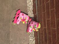 Hello Kitty roller boots - size 10-11.50