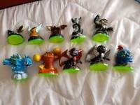 Skylanders figures about 92 of them