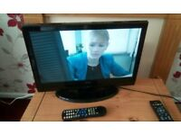 """Alba 19"""" lcd tv with built in freeview"""