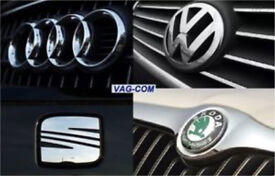 VCDS Diagnostic Audi/VW/Seat and MILEAGE CORRECTION service (most make/model). Faults cleared.