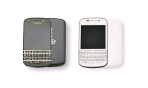 In good condition unlocked blackberry  q10 white or black colors