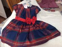 MOTHERCARE SPECIAL PARTY DRESS FOR YOUR SPECIAL LITTLE GIRL (NWL)