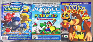 Lot of 3 Video Game Player's Guides