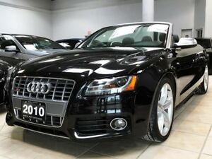 2010 Audi S5 3.0T CABRIO | NAV | B&O | FULLY LOADED!