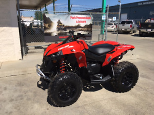 LAST New 2016 Can Am Renegade , 4x4 for only $79 bi-weekly!!