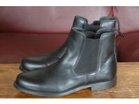 Chelsea Boots, Real Leather, Size 8.5