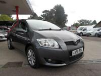 08 (58) TOYOTA AURIS 1.6 TR VVT-I 5DR ONLY 55,200 MILES, 2 LADY OWNERS