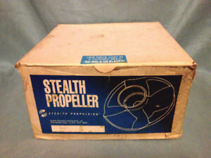 ★ Stealth RING PROP , 10 Splines, 10-30hp,New in Box ★