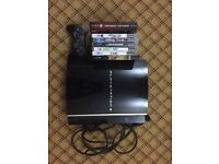 PS3 with 1 controller & 7 games