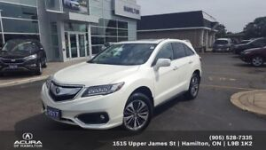 2017 Acura RDX Elite 2017 RDX ELITE one owner no accidents