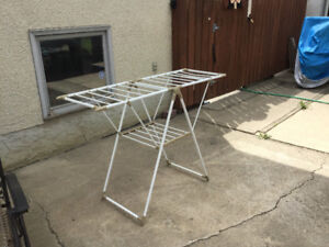 Folding Laundry Dryer Stand