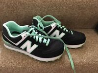 Size 6 New Balance trainers for sale