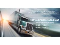 External CPC Qualified Freight Transport Managers