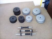 Several weights = 50 kg for sale £24
