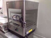 COMMERCIAL HOT DISPLAY CABINET CATERING PASTRY MACHINE KITCHEN CANTEEN RESTAURANT SHOP DINER