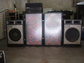 Full mobile discotheque for sale