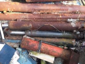 HYDRAULIC RAMS (Used) 8 Assorted Sizes